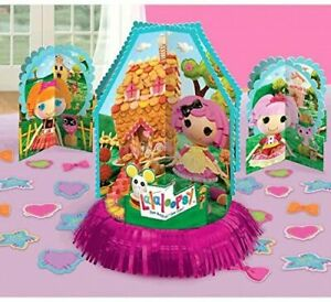 LALALOOPSY Table Decorating Kit 23 Piece Centerpiece Party Supplies