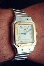 Kamatz Paris vintage automatic watch. A Cartier Santos homage