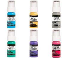Ranger Acrylic Paint Dabbers New 2016 Lot Bundle  6 paint bottles