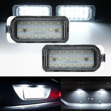 2X LED Licence Plate Light For Ford Max Focus Galaxy Mondeo Jaguar Ford Fiesta