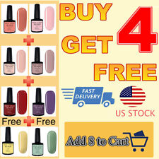 MES FEES Nail Gel Polish Soak Off UV LED Matte Top Base Coat Salon Gel Nails Art