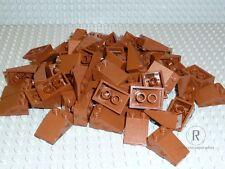 LEGO® 50 Ziegel Dachsteine braun reddish braun rotbraun 45° 2x3 3298 NEUWARE
