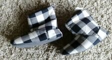NEXT GIRLS NEW QUALITY SLIPPER BOOTS SIZE UK 11 JUNIOR COSY FUR LINED BNWT