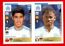 FIFA 365 2015-16 PANINI 2016 -Figurina Stiker- n. 412/416 - MARSEILLE -New