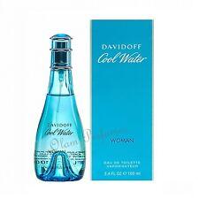 Cool Water For Women by Davidoff Eau de Toilette Spray 3.4oz 100ml * New in Box