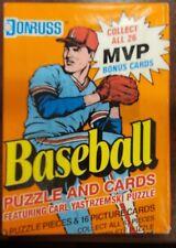 Donruss 1990 Baseball Puzzle and Cards Featuring Carl Yastrzemski Puzzle