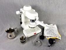Krups Typ 963/B 4-Cup Mini Espresso Cappuccino Maschine weiss mit FOAM MAKER