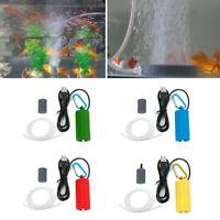 Mini Portable USB Aquarium Fish Tank  Air Pump Mute Energy Save Compressor