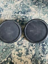 "Lot of 2 (TWO) Simmons PDS-5 Electronic Drum Pad, 8"", with L-rod"