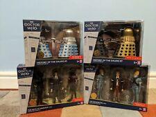 More details for dr doctor who history of the daleks set 5 & 7 + sensorites & marinus figure sets
