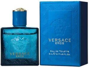 Versace Eros for Men 5ml MINI Eau de Toilette .17 oz Cologne by Gianni Versace