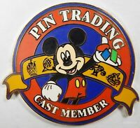 Disney Pin 45581 WDW Cast Member Exclusive 2006 Trading Logo Mickey Mouse