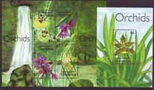 DOMINICA 2007 ORCHIDS  SHEETLET 4 +  MINISHEET MINT NEVERHINGED