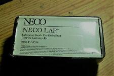 Neco lapping bullets,.25 Cal.Nib,partial box of 30(all 4 grits)