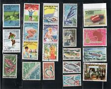 AFRICA CHAD TCHAD  STAMPS   USED    LOT 19944