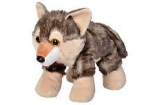 BNWT - Wild Republic Grey Wolf (pup) Stuffed Animal Soft Toy 25cm/10inch