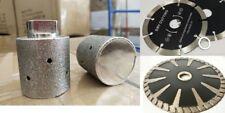 1 38 Diamond Sink Grinding Drum 5 Convex Blade Cutting Blade Granite Concrete
