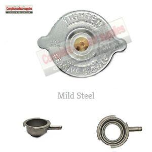 Mild Steel Steel 56 mm Radiator Filler Neck and 7lb Pressure Cap