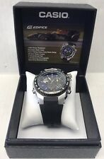 Casio EFE500J-2A Edifice Tachymeter World Time Men's Watch MINT!!!