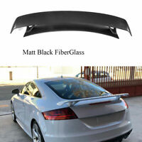 FRP Rear Trunk Racing Spoiler Wing Black Fit for Audi TT 8J Coupe 2008-2014