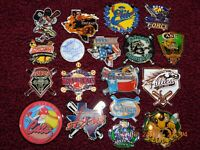 "19 DIFF GIRLS SOFTBALL EX-LARGE PINS - MOST 2+"" - FAST PITCH - 12U 14U 16U etc"