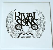 RIVAL SONS BEFORE THE FIRE CD 2009 ADVANCED COPY INDIE ROCK ALTERNATIVE CLASSIC