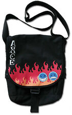 **License Bag** One Piece Portgas D. Ace's Hat Icon Messenger Backpack #11673