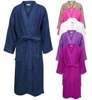 Bath Robe Unisex Dressing Gown 100% Egyptian Cotton