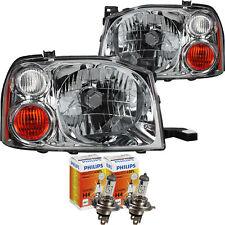 Scheinwerfer Set inkl. Philips H4 für Nissan Navara Pick Up (D22) Bj. 01.97->>