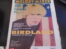 Warren Zevon, Sisters of Mercy, U2 - Melody Maker Magazine 1990