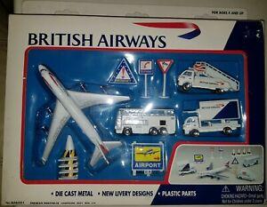 British Airways Aeroplane And Airport Vehicle Models New