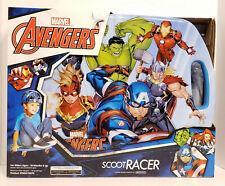 Nextsport Marvel Avengers Scoot Racer Caster Board Hulk Captain America Ironman