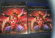 JOHN CARPENTER'S In The Mouth Of Madness Blu-ray w/Slipcover Brand New RARE OOP!