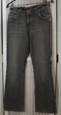 """LEE """"Desoto"""" Stretch Denim Bootcut Jeans 28""""W 31""""L Vintage Faded Grey Dungarees"""