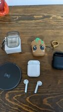 Apple AirPods 2nd Generation with Wireless Charging Case Bundle