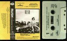 Rush Permanent Waves RCA Club USA Cassette Tape