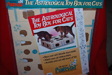 Mr. Spats' Astrological Toy Box For Cats Pursuit Cat Game Free Shipping