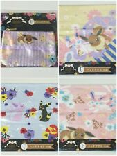 Banpresto Pokemon EIEVUI & FLOWERS Series Prize Eevee Hand Towel Tissue Pouch