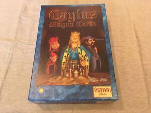 Caylus Magna Carta Card Game Rio Grande Games by William Attia