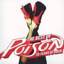 Poison : Best Of, The - 20 Years of Rock CD (2006) ***NEW***