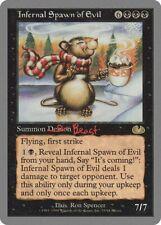 Infernal Spawn of Evil Unglued HEAVILY PLD Black Rare MAGIC MTG CARD ABUGames