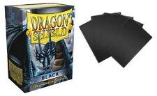 Dragon Shield: Black, 100 protège-cartes noir - envoi rapide et suivi
