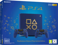 CONSOLE SONY PS4 SLIM 500 DAYS OF PLAY LIMITED EDITION PLAYSTATION 4 BLUE GOLD