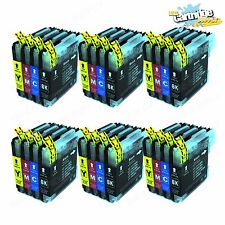 24PK LC61 LC65 Ink Cartridges For Brother MFC-295CN MFC-385CW MFC-490CW MFC-290C