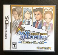 Phoenix Wright Ace Attorney: Justice for All | Nintendo DS | CAPCOM