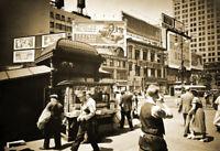 "1936 Union Square, Manhattan, New York City Old Photo 13"" x 19"" Reprint"