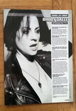BRODY DALLE 'famous last words'  magazine PHOTO/Poster/clipping 11x8 inches