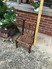 SIGNED Old Hickory Chair Company Antique Rustic Childs Chair