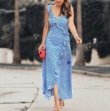 Madewell NWT ruffled wrap maxi dress in mini daisy, j2689