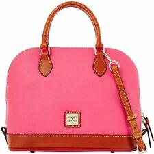 Dooney & Bourke Zip Zip Satchel Leather R343 LK Light Pink - NWT